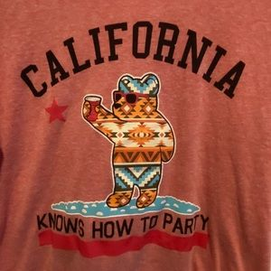 """Riot Society """"California Knows How to Party"""" Tee"""